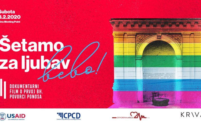 Sloboda prati hrabre, Merlinka u Sarajevu osmi put